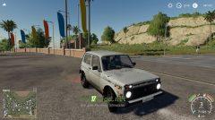 """Мод на автомобиль ВАЗ-2121 """"НИВА"""" для игры Farming Simulator 2019"""