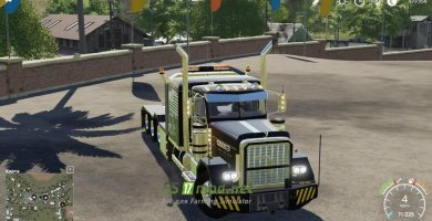 Mод на Pete 389 Heavy для игры Фермер Симулятор 2019