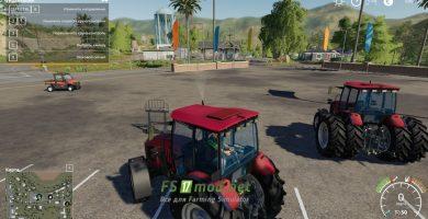 Мод на Беларус МТЗ-2022 В КУН для Farming Simulator 2019