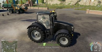 John Deere 6R Black Edition