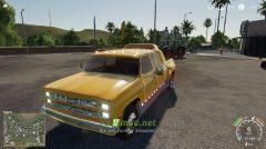 Мод на Chevrolet Silverado C30 Quad Cab Dually для игры FS 2019