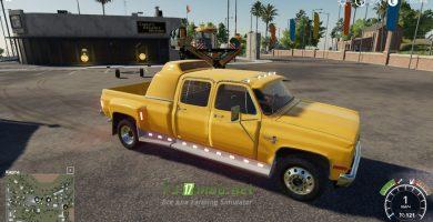 Мод на Chevrolet Silverado C30 Quad Cab Dually