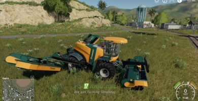 Mод на Krone Big M500 VE для игры Farming Simulator 2019