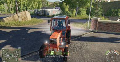 Mод на трактор MTЗ 82 Belarus
