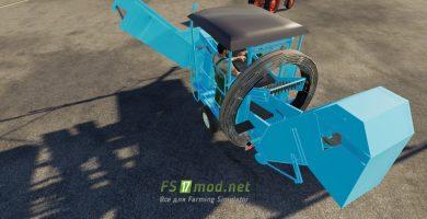 Мод на Fortschritt K689 Potato Combine для Farming Simulator 2019