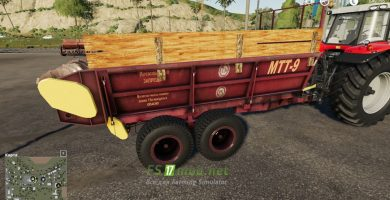 Mод на ПРТ-7А и МТТ-9