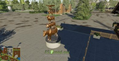 Mод на карту Un Petit Coin De Paradis для игры Farming Simulator 2019