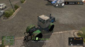 Mод на Т-150К ХТЗ для игры Farming Simulator 2017