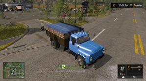 Mод на ГАЗ - 53 для игры FS 2017
