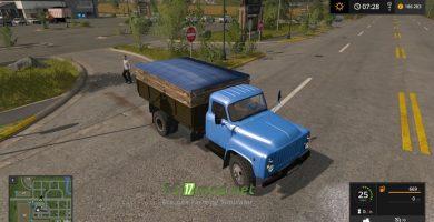 Mод на ГАЗ — 53 для игры FS 2017