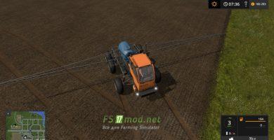 Moд на агрегат Туман для игры Симулятор Фермера 2017