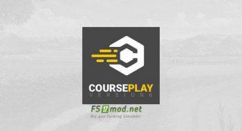 Mод на Courseplay для игры Farming Simulator 2019