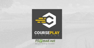 Mод на Courseplay для игры Farming Simulator 2019
