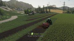 Мод на Cultivator Field Creator для игры Фермер Симулятор 2019