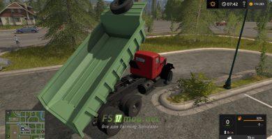 Мод на КРАЗ 256 для игры Симулятор Фермера 2017