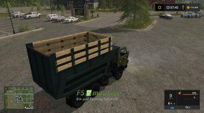 Мод на КАМАЗ-55111 для игры Farming Simulator 2017