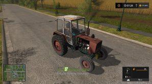 Мод на трактор UMZ 6KLM для игры Фарминг Симулятор 2017