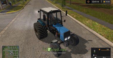 Мод на MTZ 892 для игры Farming Simulator 2017