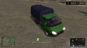 Мод на ГАЗ Газель (3302) 2003 для игры Симулятор Фермера 2017