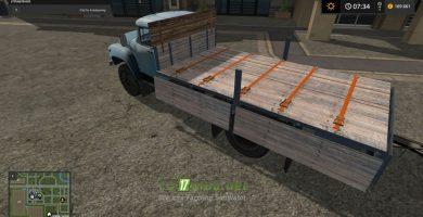 Mод на ЗИЛ 130Г и ГКБ 817 для игры Симулятор Фермера 2017