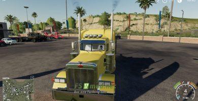 Мод на Peterbilt Log Truck