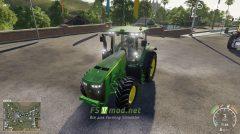 Мод на John Deere 8R 2011 для игры Симулятор Фермера 2019