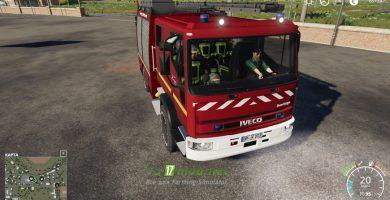 Мод на Iveco HLF 19