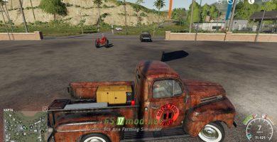 Мод на 1948 Ford F100 Service Truck для игры Farming Simulator 2019