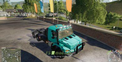 Мод на Mercedes Zetros 3643 6X6
