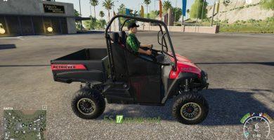 Mод на Mahindra Retriever Utility Model для игры Farming Simulator 2019