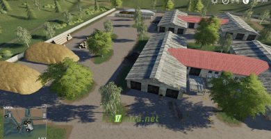 Мод на карту «Село Ягодное»