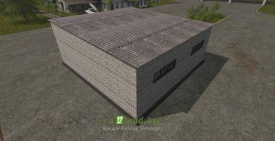 Мод на покупаемый гараж для игры Симулятор Фермера 2017