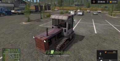 Мод на трактор Т-4 Приват