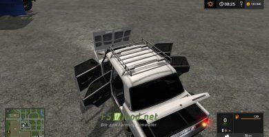Мод на автомобиль Лада Жигули 2107