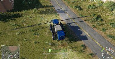 Мод на New Holland Опрыскиватель Eagle355th
