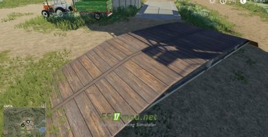 Mод на Bridge Placeable для игры Farming Simulator 2019