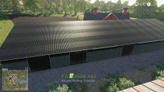 Мод на Большое Хранилище для игры Farming Simulator 2019