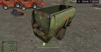 Мод на ИСРК-12 «Хозяин» для игры Farming Simulator 2017