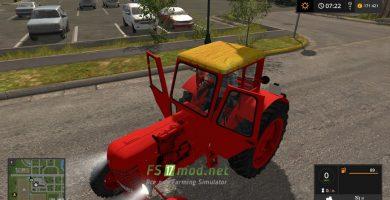 Мод на Трактор МТЗ 50 для игры Фермер Симулятор 2017