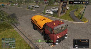 бензовоз МАЗ 500