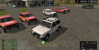 Mод на автомобиль НИВА 1600 для игры Farming Simulator 2017