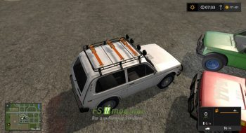 Mод на автомобиль НИВА 1600
