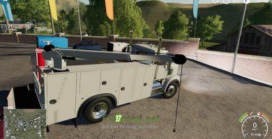 Мод на Freightliner Service Truck для игры Farming Simulator 2019