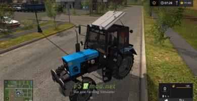 Mод на трактор MTЗ 82 .1 для Farming Simulator 2017
