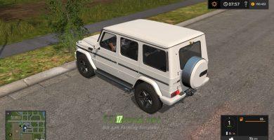 Мод на Mercedes-Benz G65 AMG (BR.463) для игры Farming Simulator 2017