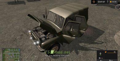 Мод на УАЗ 469 для Фарминг Симулятор 2017