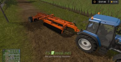 Мод на Laumetris Tvll-8 для игры Farming Simulator 2017