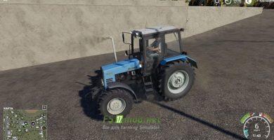 Мод на МТЗ-892.2 для игры Farming Simulator 2019