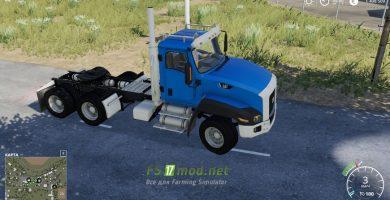Мод на Caterpillar CT660 для игры Фермер Симулятор 2019