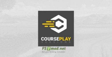 Mод на Courseplay V6.01.00210 Beta для игры FS 2019